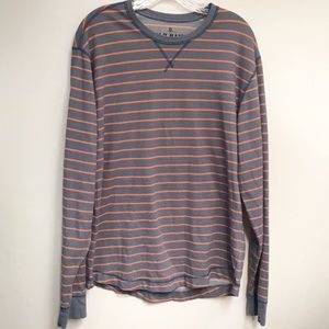 Old Navy • Men's Long Sleeve Striped Shirt Size XL